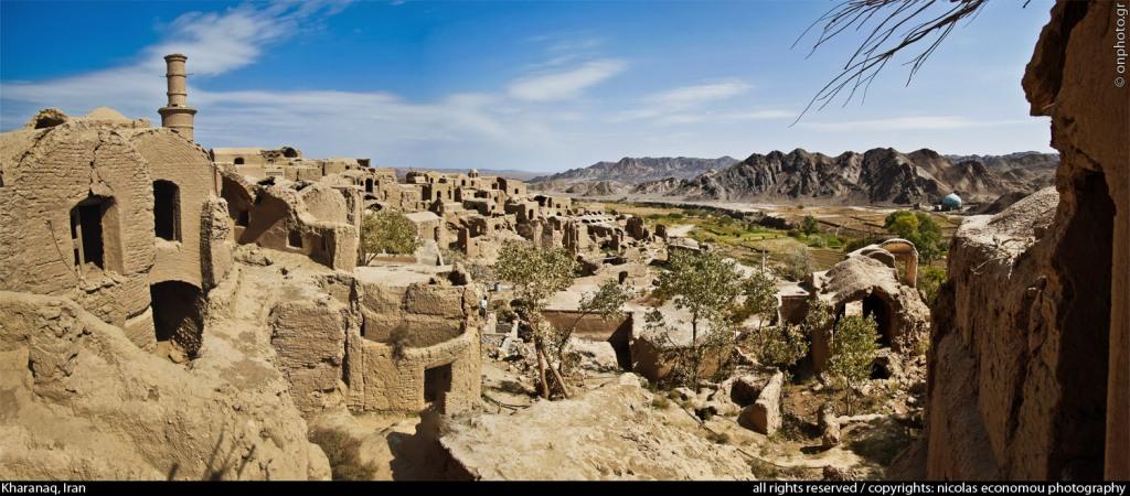 روستای خرانق یزد