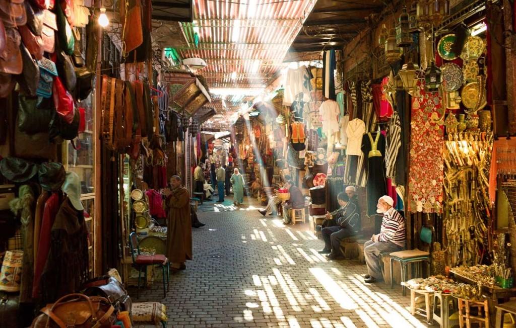 بازارهای مراکش
