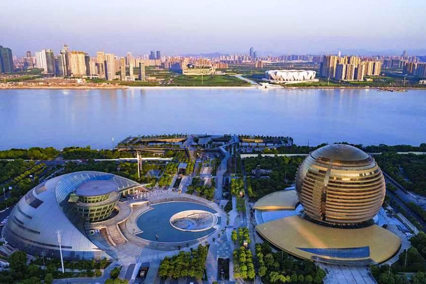 شهر هانگزو چین