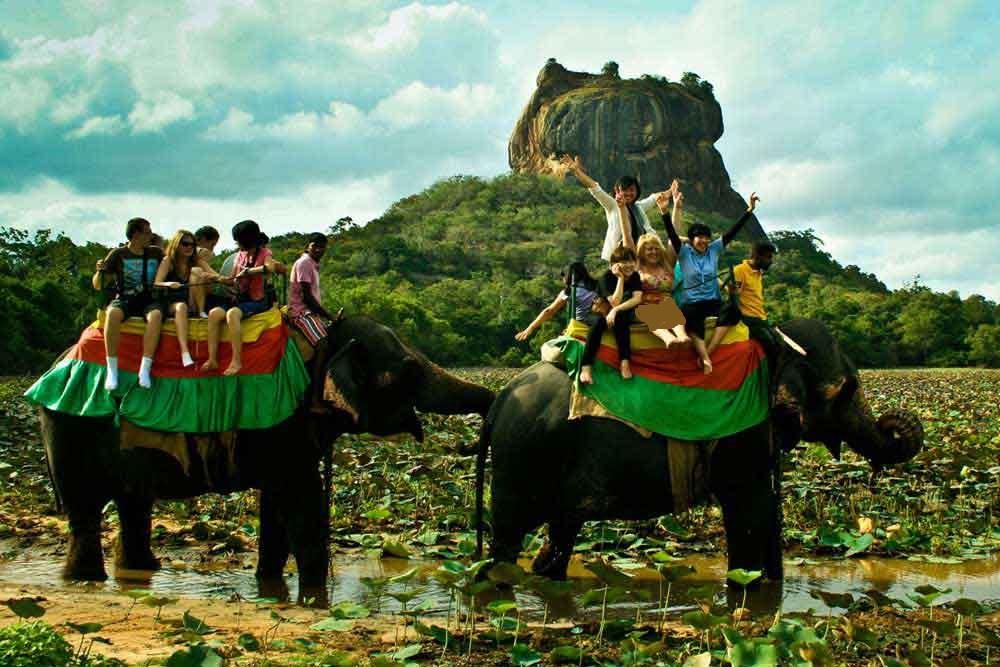 کاخ سیگیریا سریلانکا