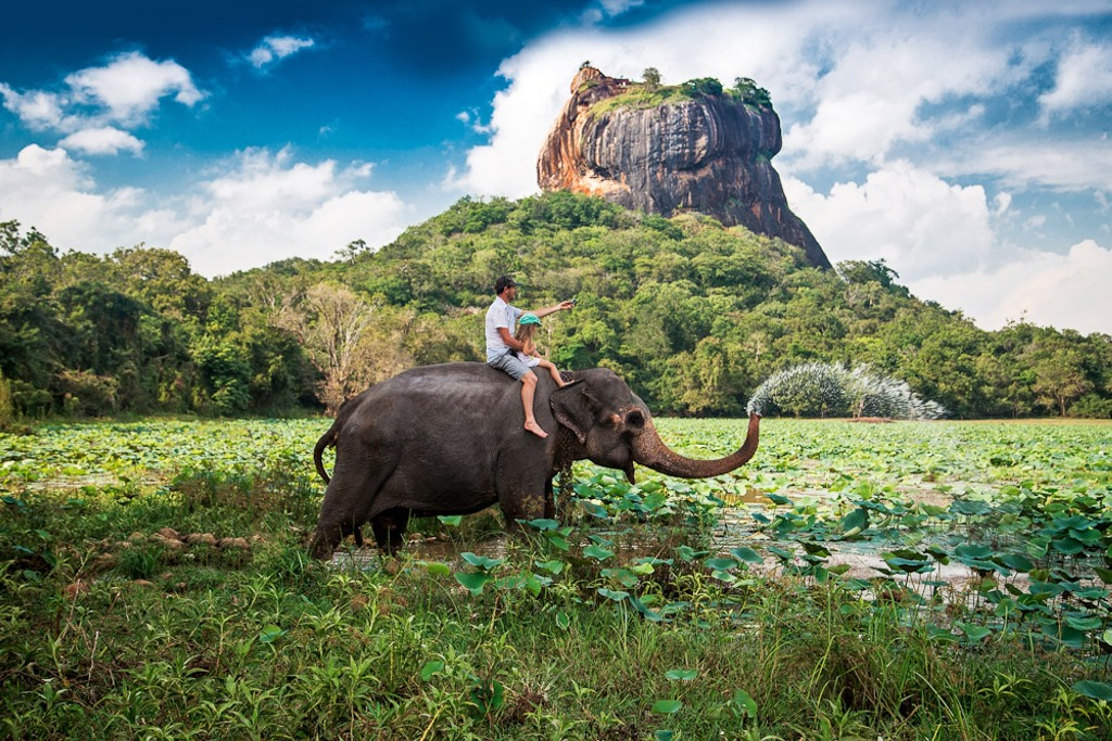 Photo of قلعه سیگیریا سریلانکا | صخره شیر سریلانکا