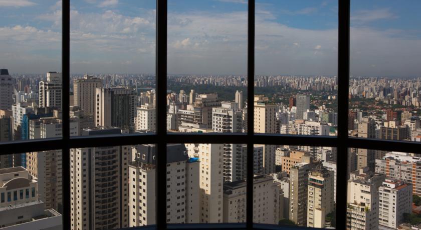 ویوی هتل رنسانس شهر سائوپائولو