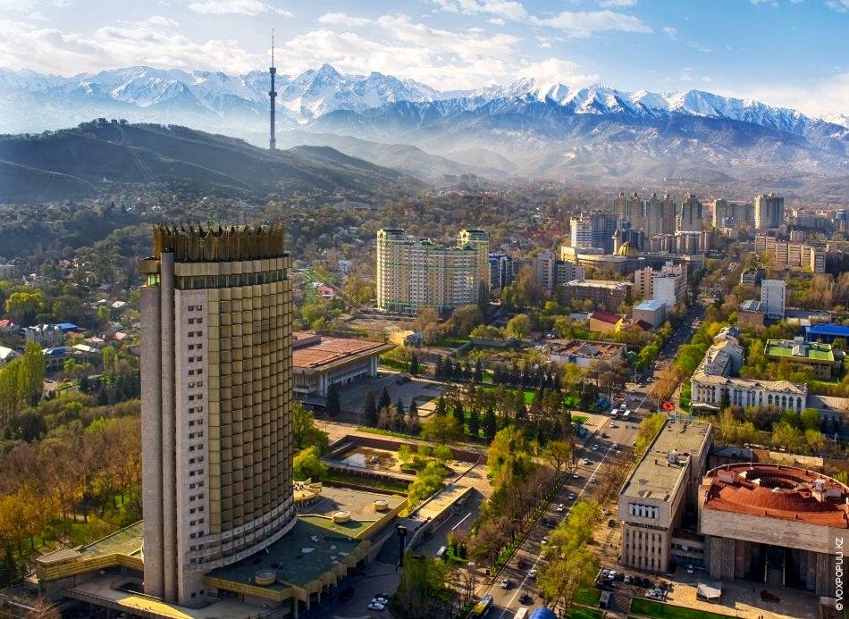تور آلماتی قزاقستان نوروز 96