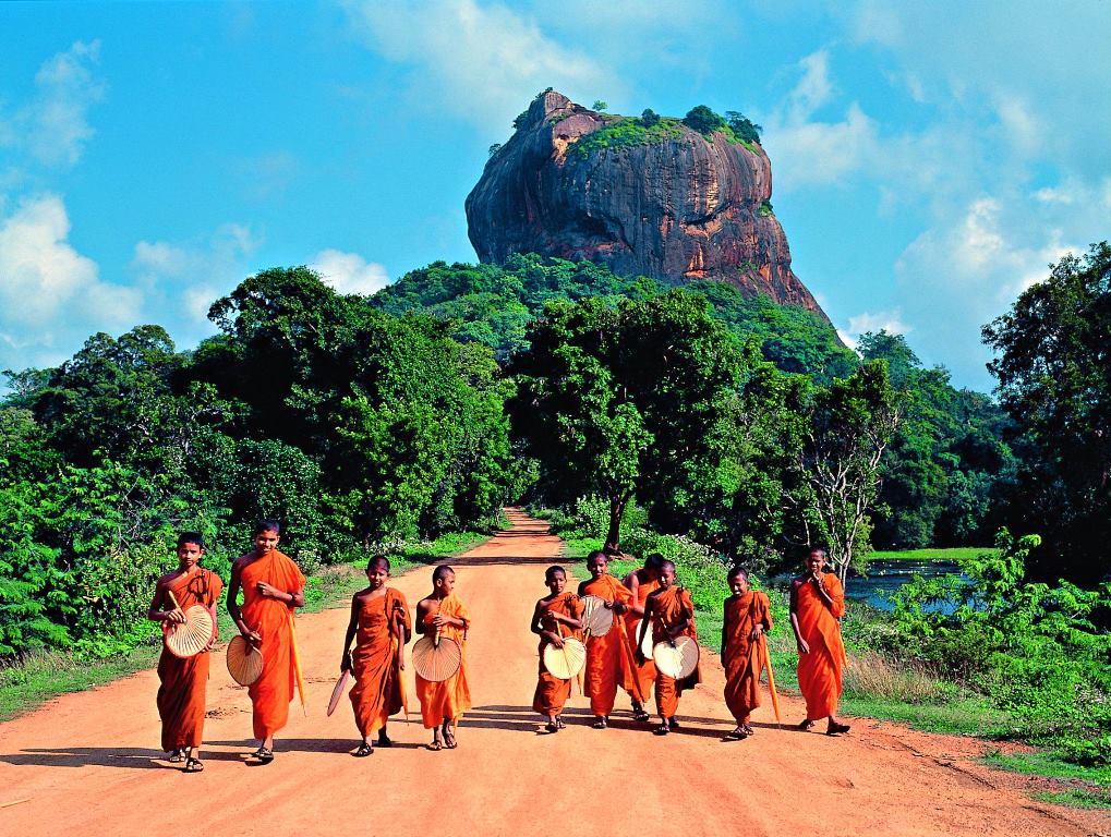 صخره شیر سریلانکا