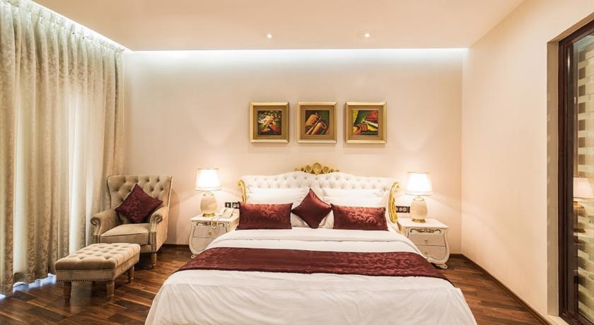 عکس اتاق های هتل پارک رجیس گوا