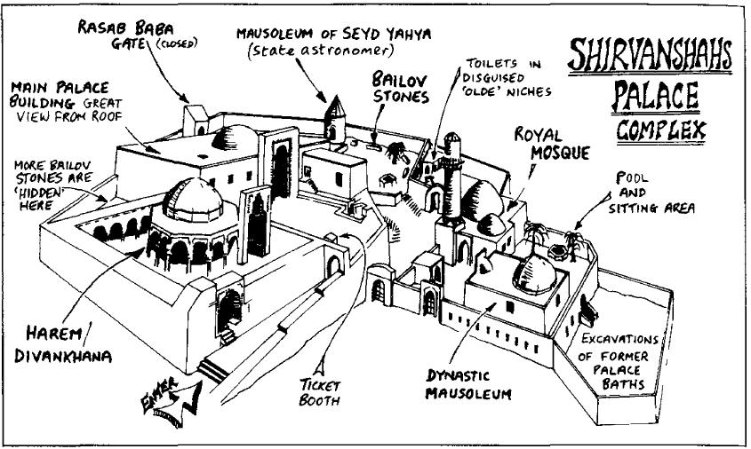 کاخ شروان شاه باکو