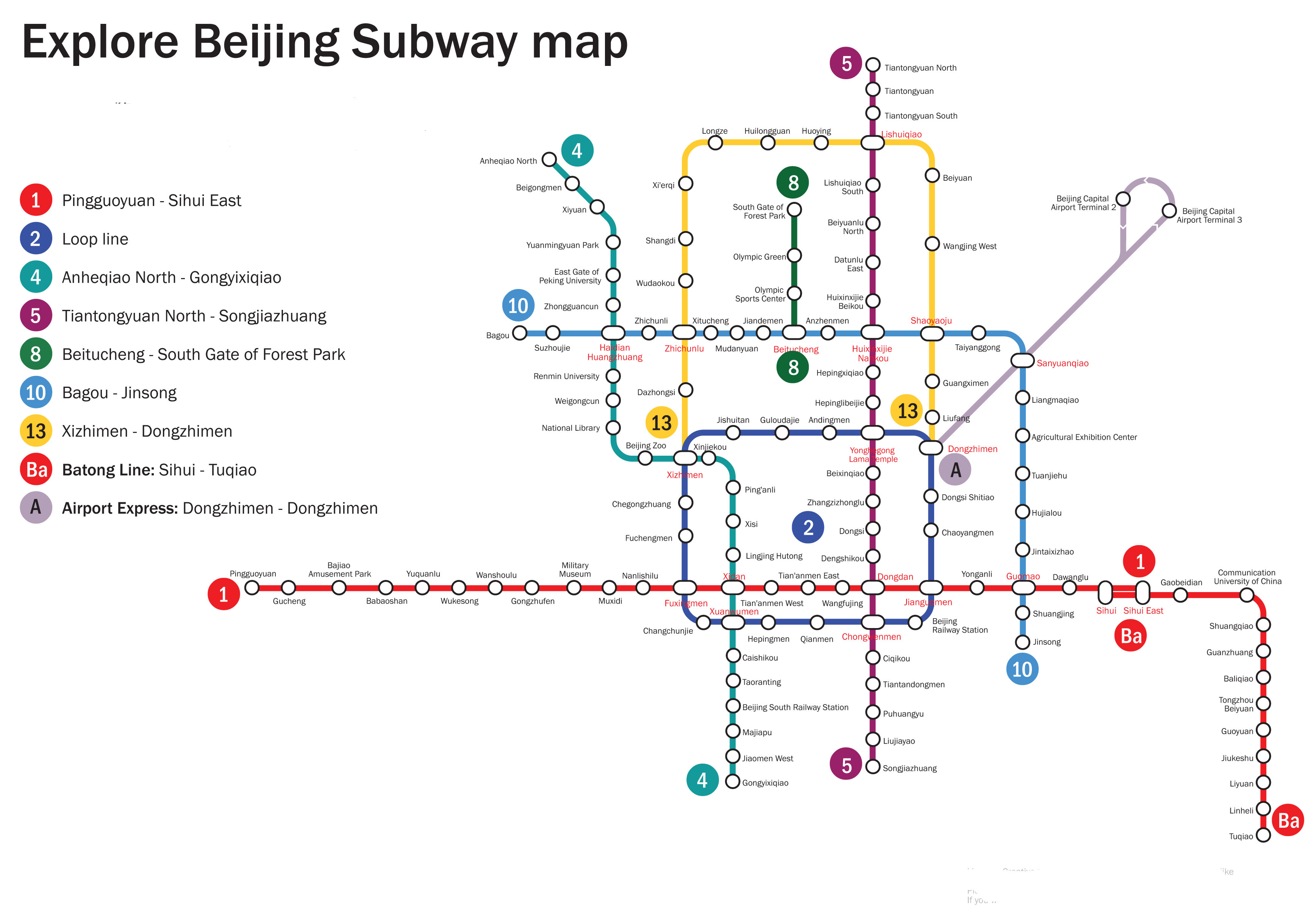 beijing metro map in english