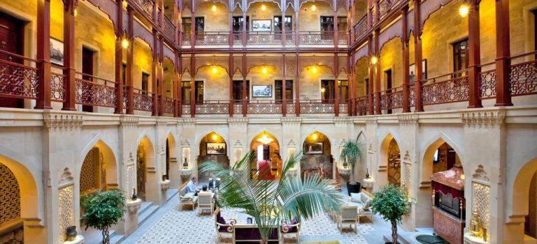 هتل شاه پالاس باکو | هتل ۴ ستاره شاه پالاس باکو