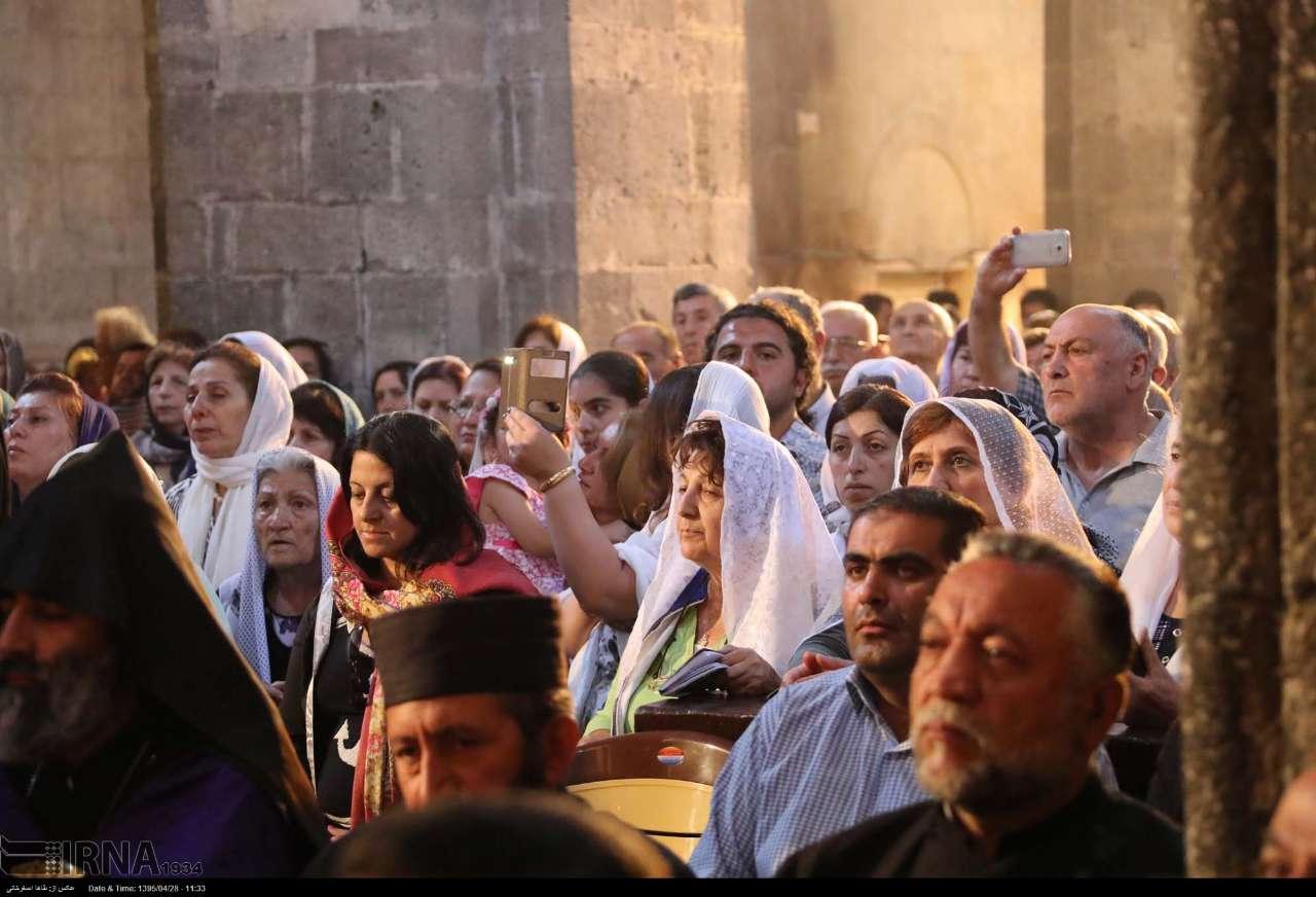 مراسم مذهبی باداراک در قره کلیسا