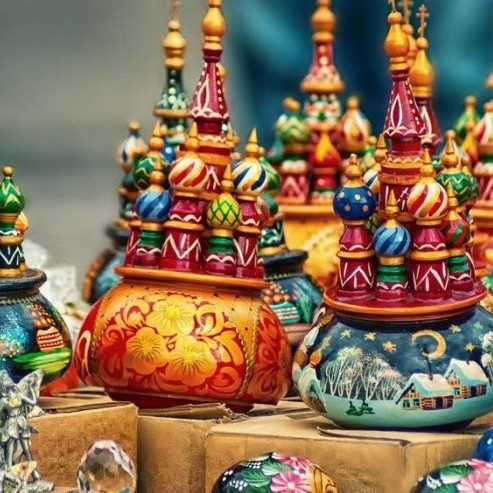 کلیساهای موزیکال سوغات روسیه