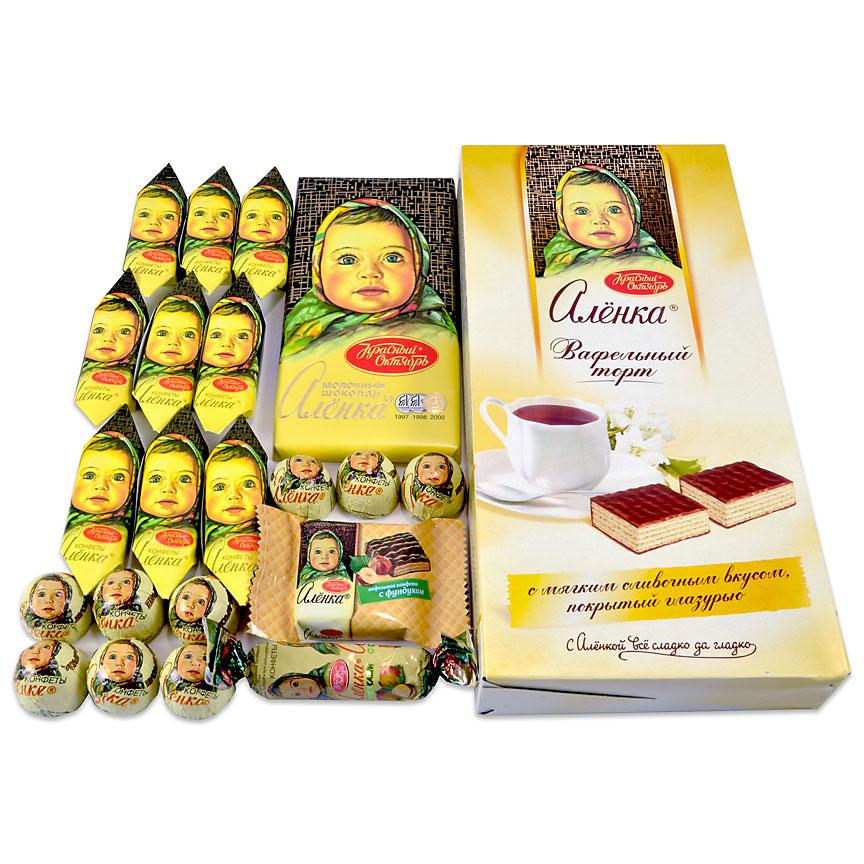 شکلات آلیونکا سوغات روسیه
