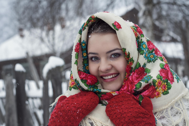 شال و روسری های روسی