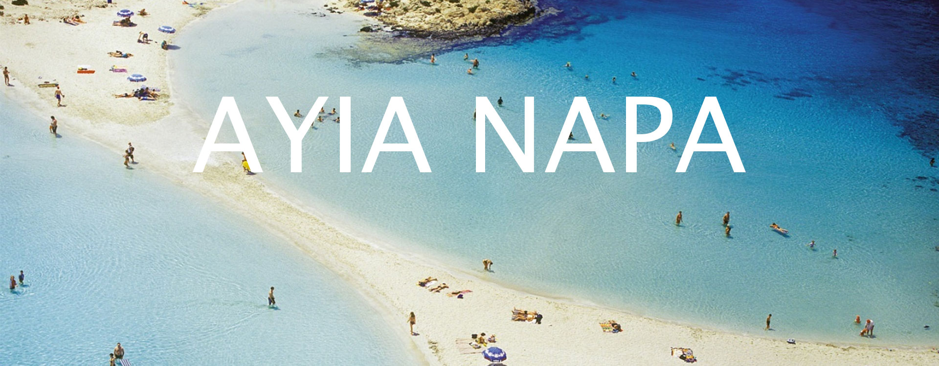 ساحل نیسی آیاناپا قبرس اروپایی