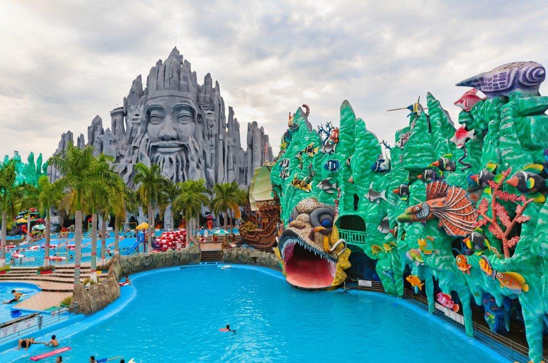 پارک آبی بزرگ هوشی مین ویتنام