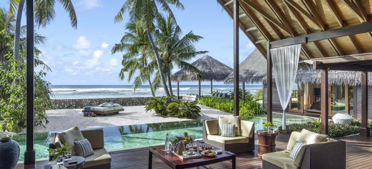 هتل شانگریلا مالدیو | Shangri-La's Villingili Resort