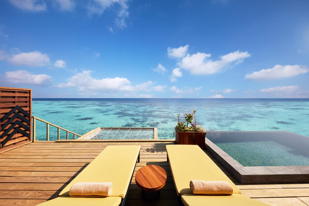 نمای تراس هتل هتل آماری هاوودا مالدیو