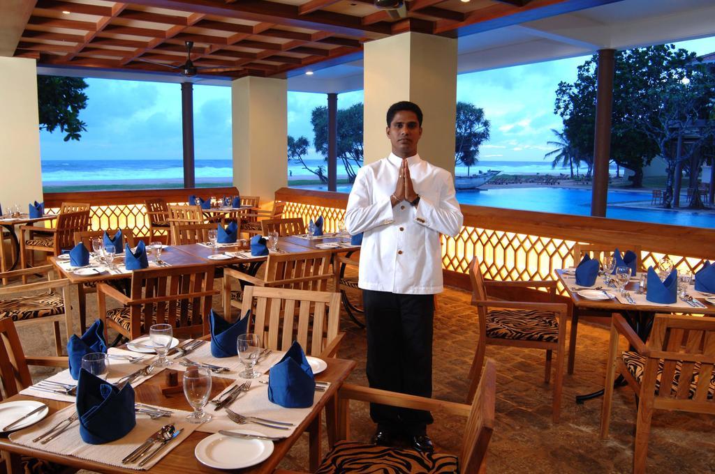 نمای رستوران هتل هریتانس آهونگالا