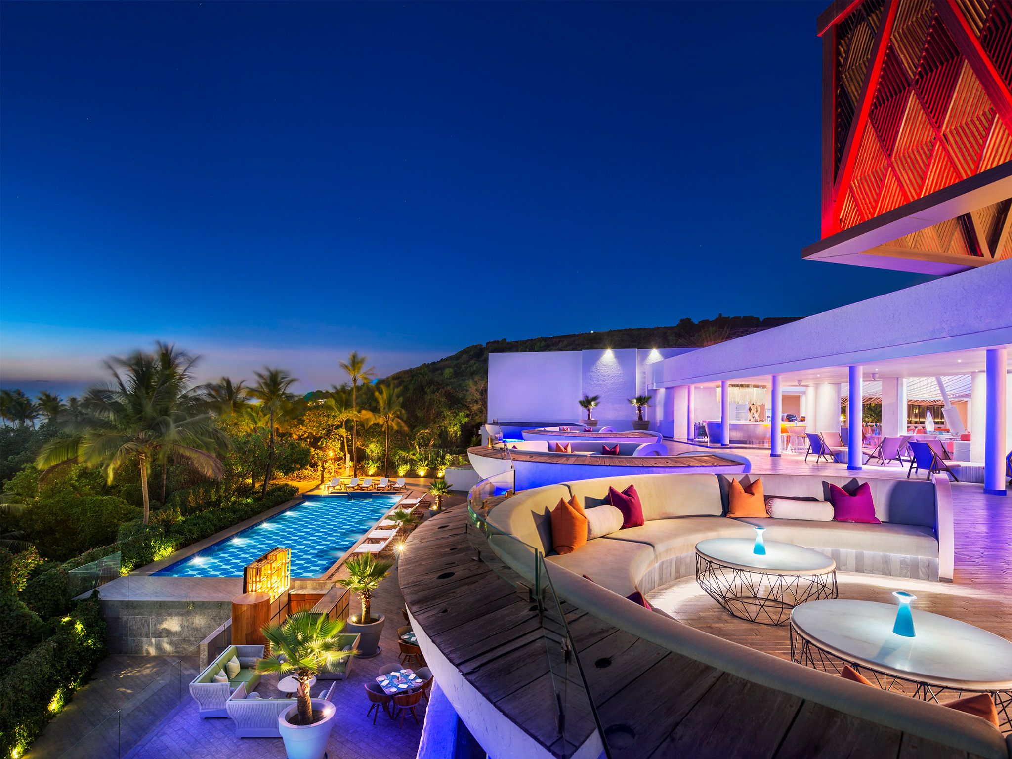 هتل پنج ستاره W در گوا