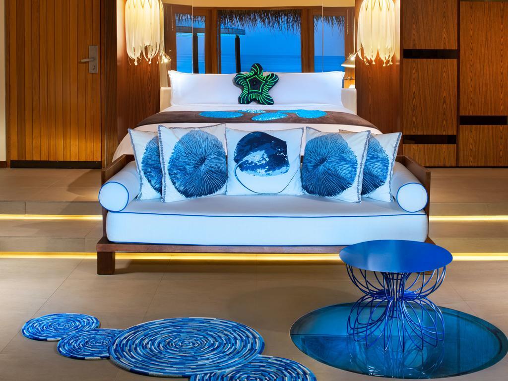 نمای داخلی هتل دبلیو