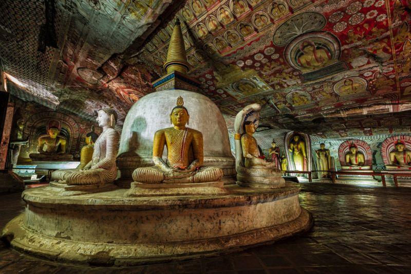 تور دامبولا و کندی و نگومبو سریلانکا