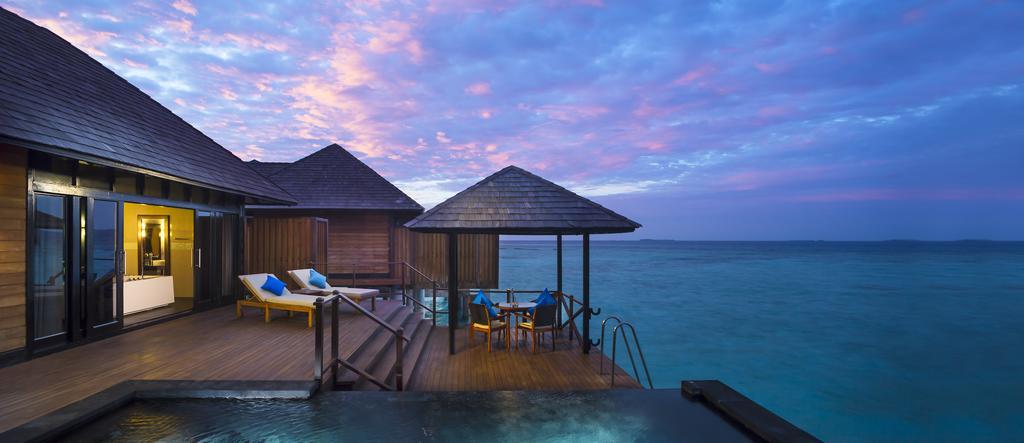 نمای تراس هتل سان سیام مالدیو