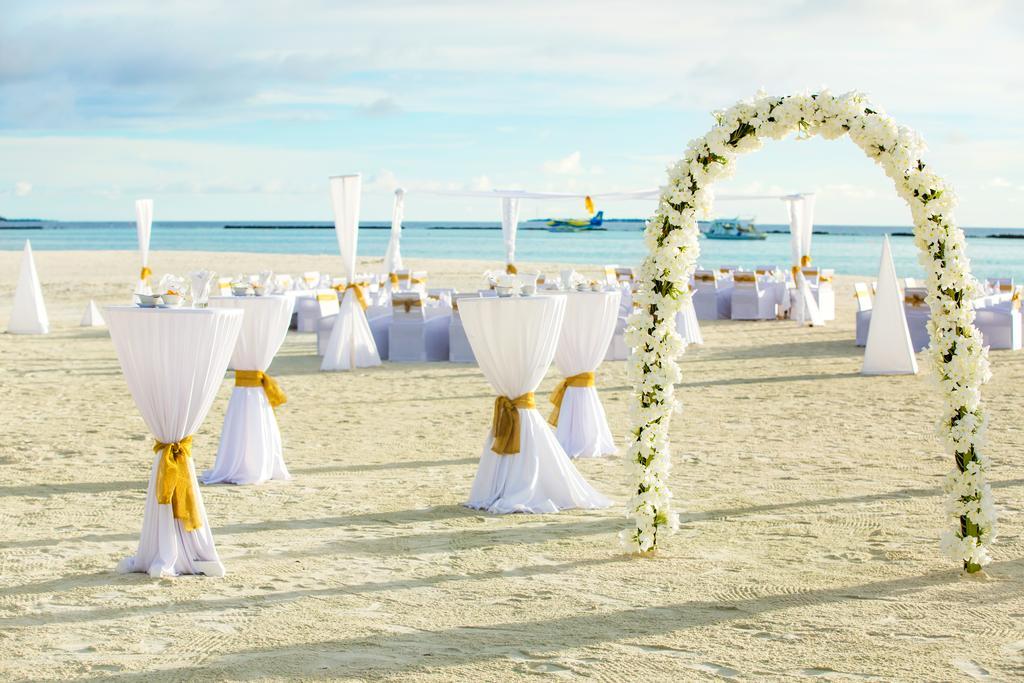 مراسم عروسی در هتل سان سیام مالدیو