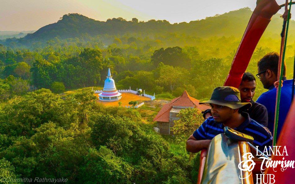 تور بالن سواری دامبولا در سریلانکا