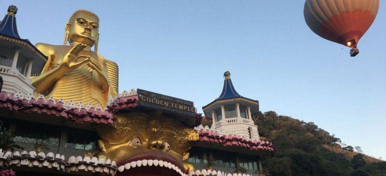 معبد غار دامبولا سریلانکا | معبد طلایی | Dambulla Cave Temple