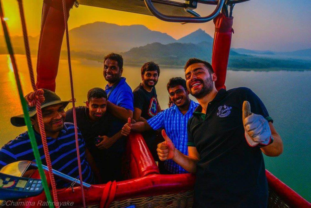 تور بالن سواری سریلانکا