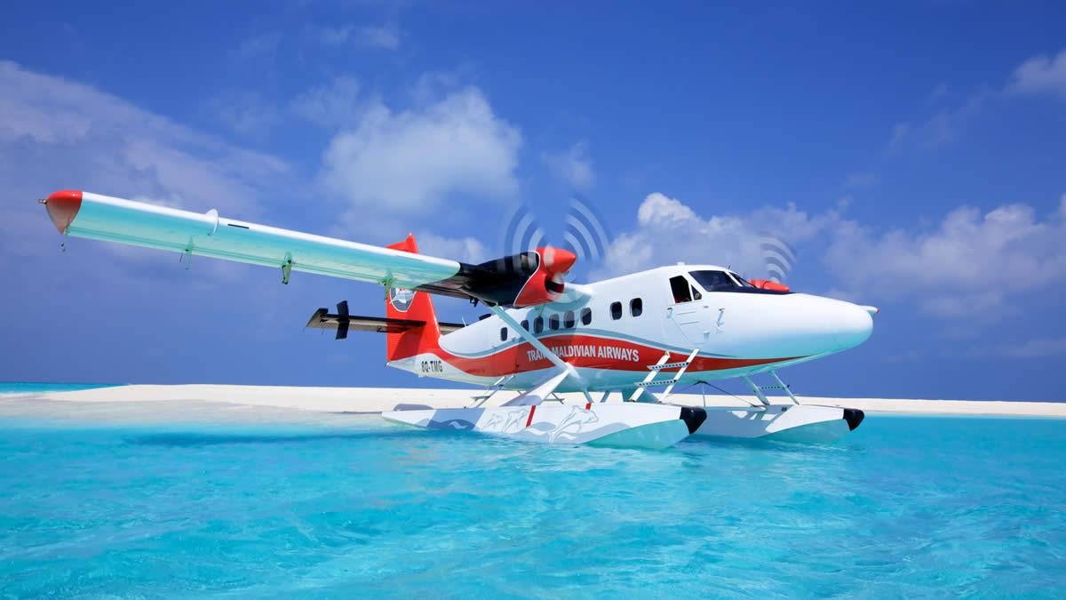 Sea Plane در مالدیو