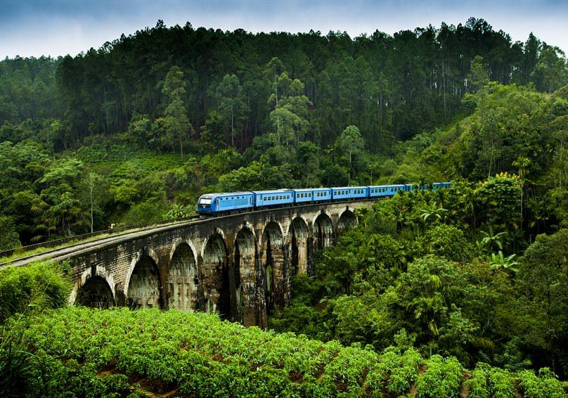طبیعت زیبای سریلانکا