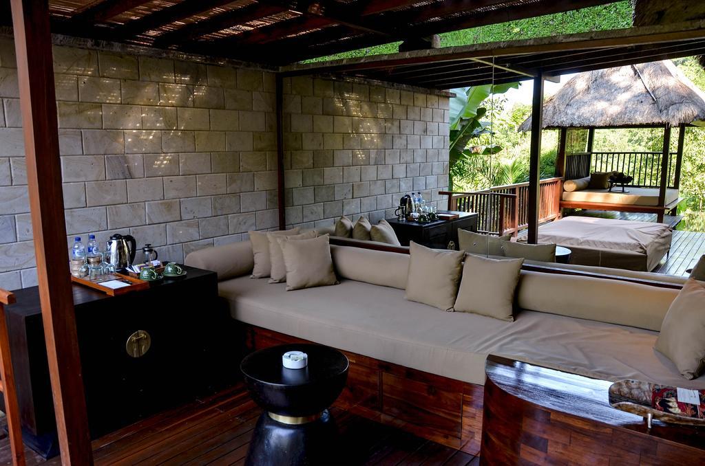 نمای داخلی هتل هنگینگ گاردن عبود بالی