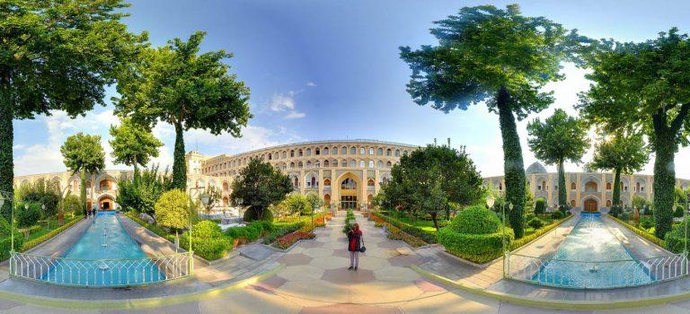 مهمانسرای عباسی اصفهان | هتل شاه عباس اصفهان