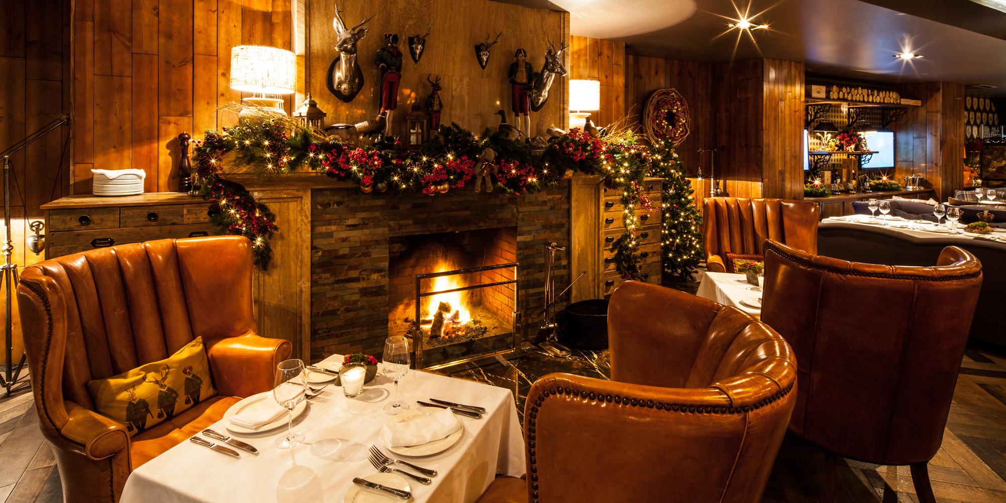 رستوران روباه قرمز منطقه کوهستانی سوچی