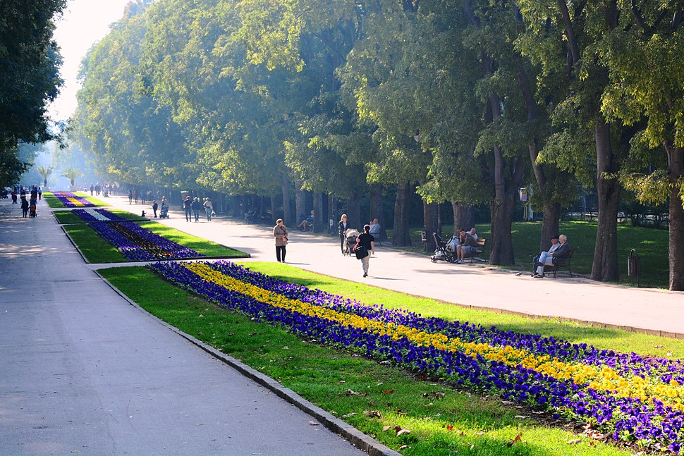 پارک باغ دریا وارنا بلغارستان