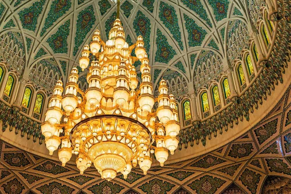 مسجد سلطان قابوس مسقط