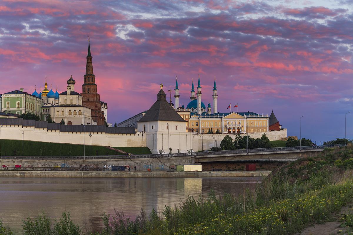 کرملین شهر کازان روسیه