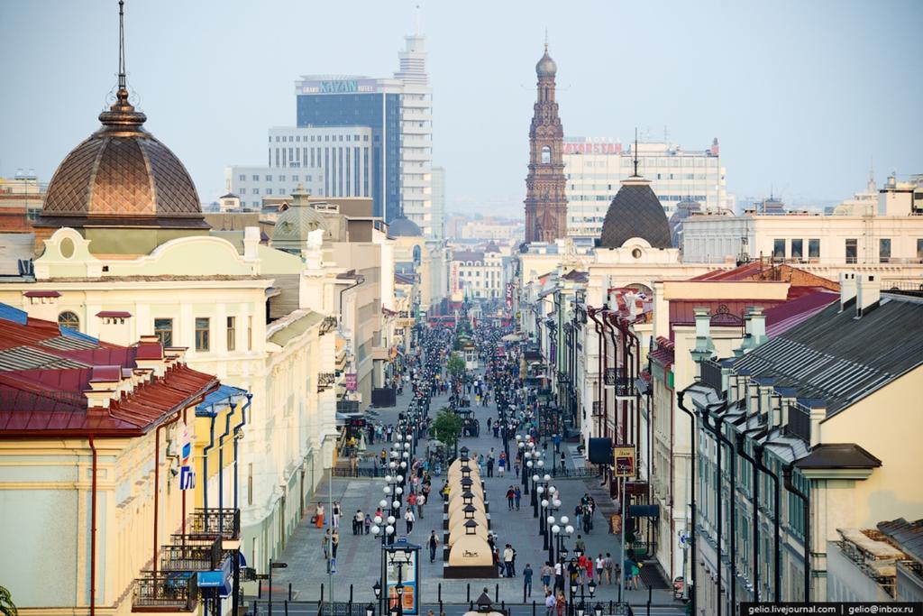خیابان باومانا کازان