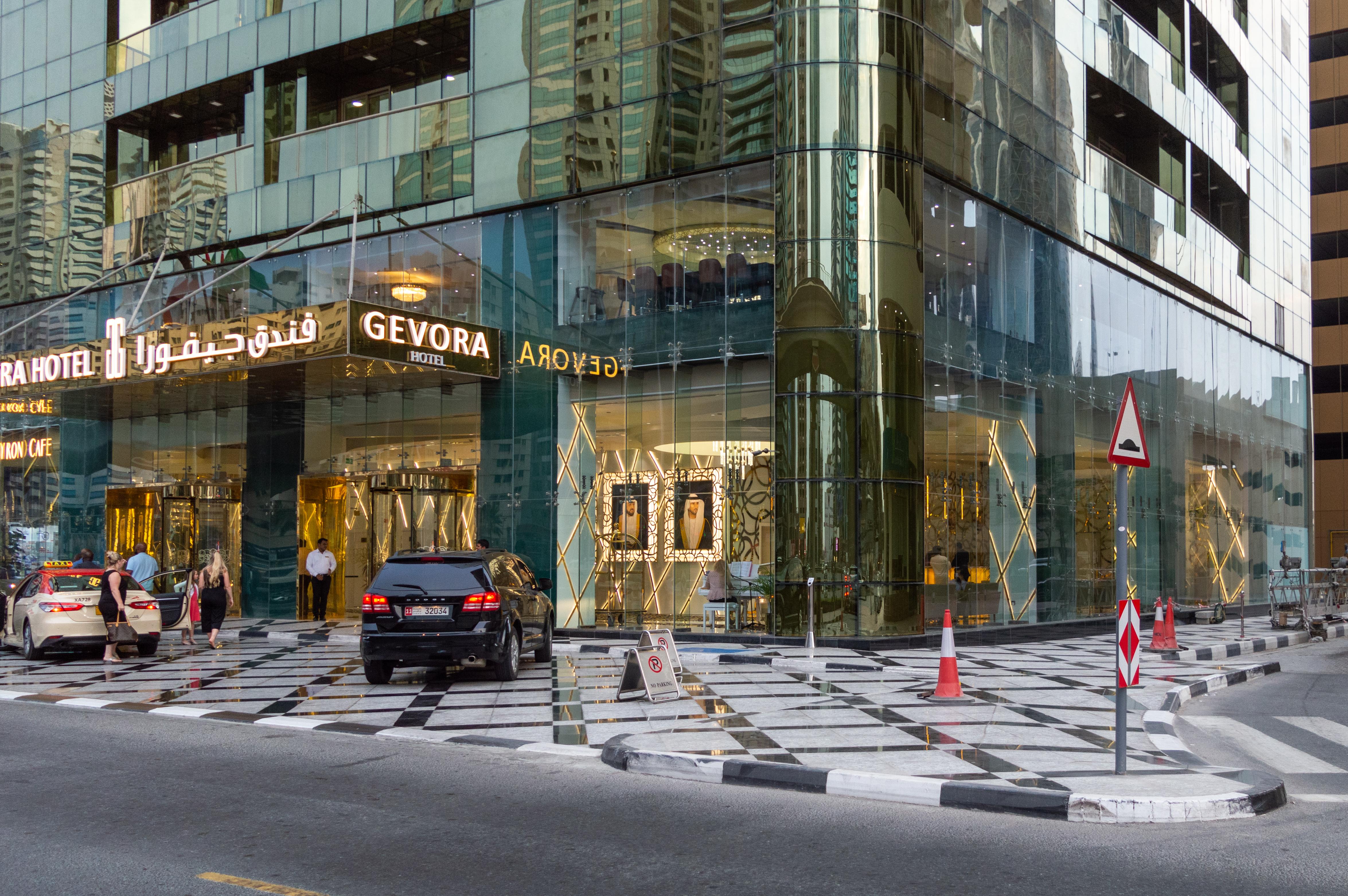 ورودی جوورا دبی |Gevora Hotel