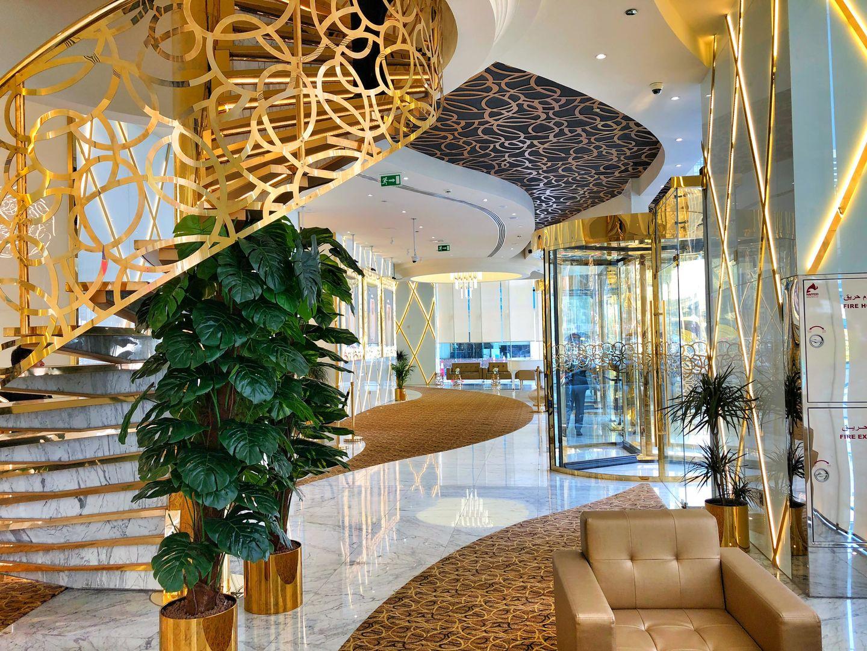 لابی هتل جوورا دبی | Gevora Hotel