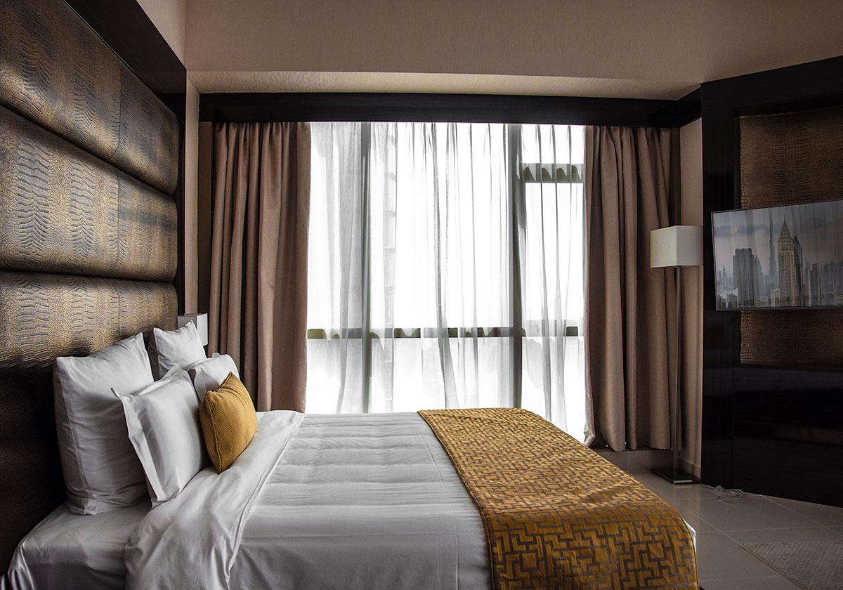 اتاق های هتل جوورا دبی | Gevora Hotel