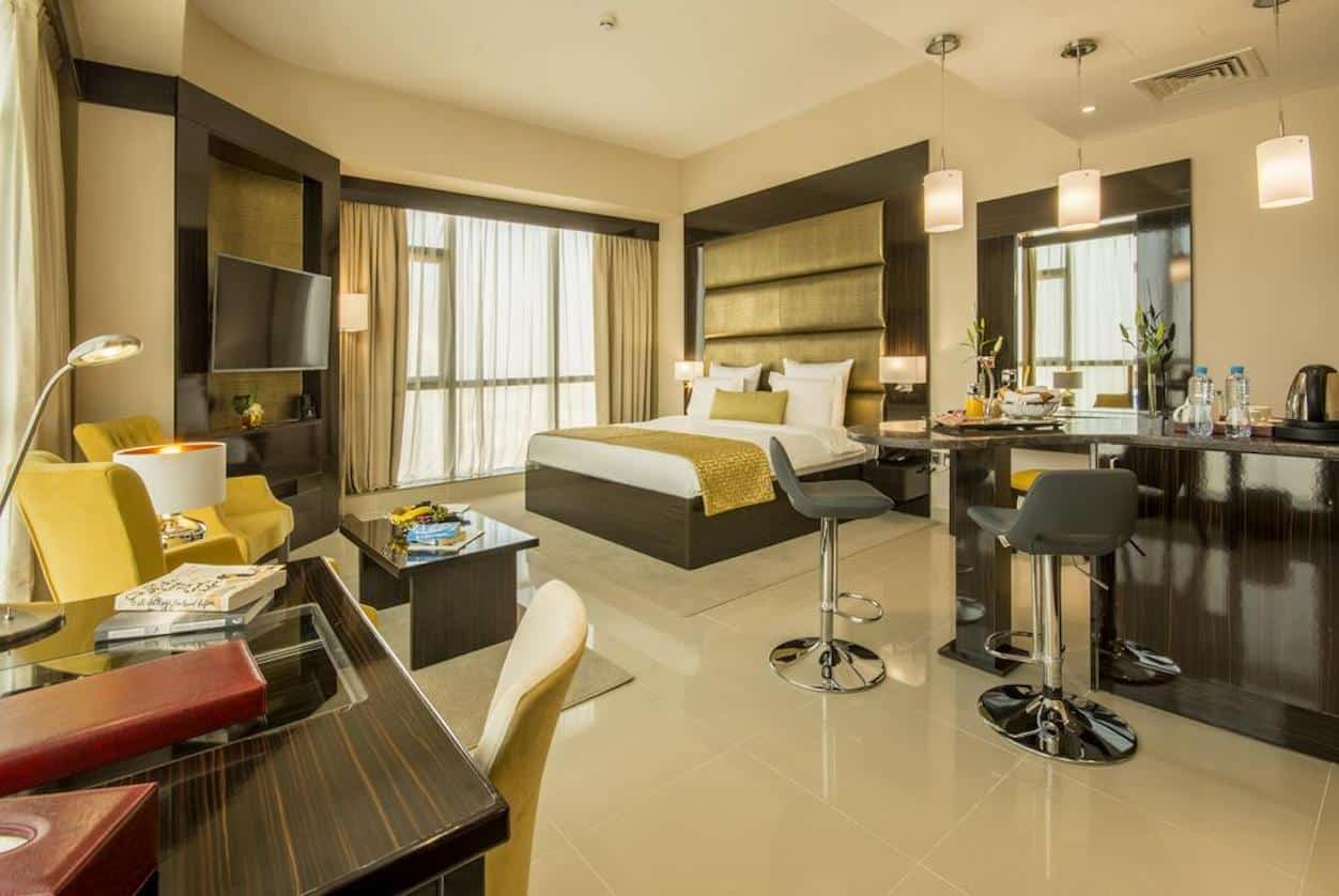اتاق های هتل جوورا دبی |Gevora Hotel