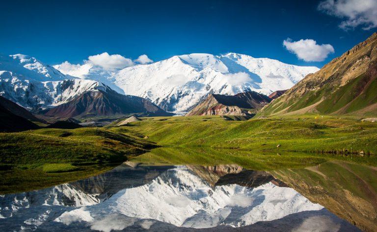 قله لنین قرقیزستان