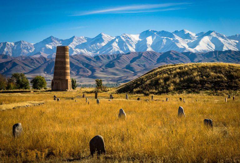 برج بورانا قرقیزستان