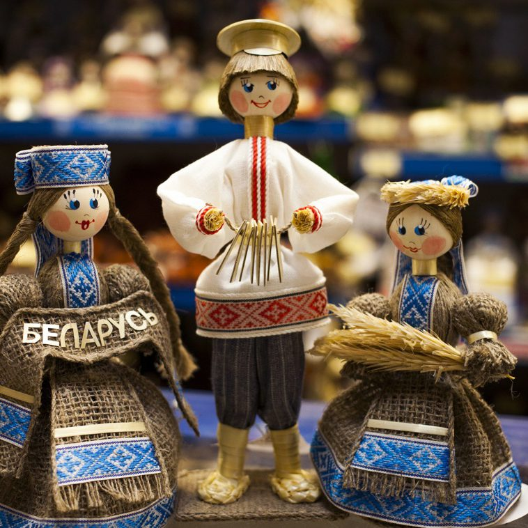 عروسک های چوبی بلاروس