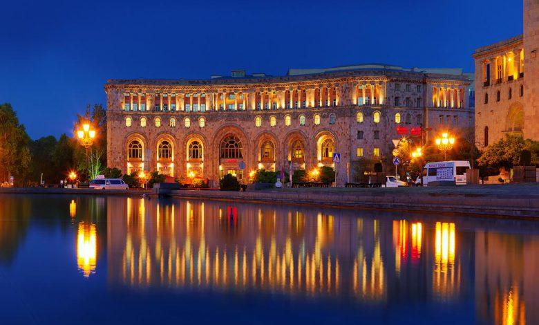 Photo of هتل ماریوت ایروان ارمنستان هتل مجلل ۵ ستاره تاریخی در میدان جمهوری