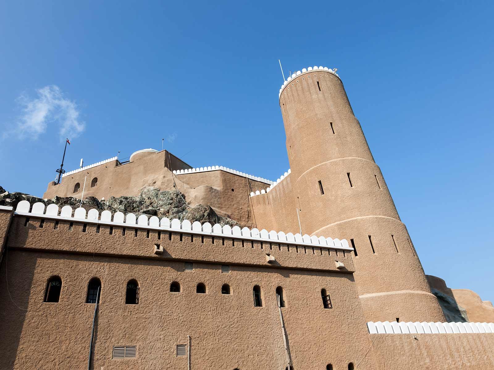 Al-Mirani-fort-Muscat