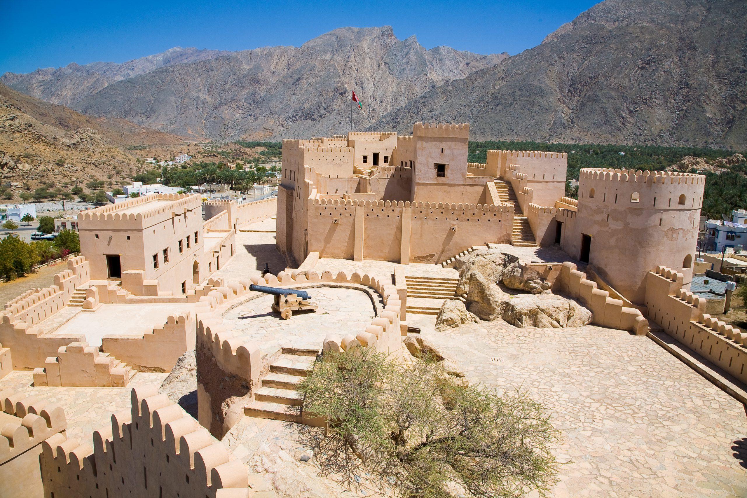 قلعه نخل مسقط عمان