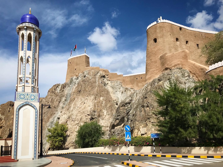 قلعه میرانی مسقط عمان