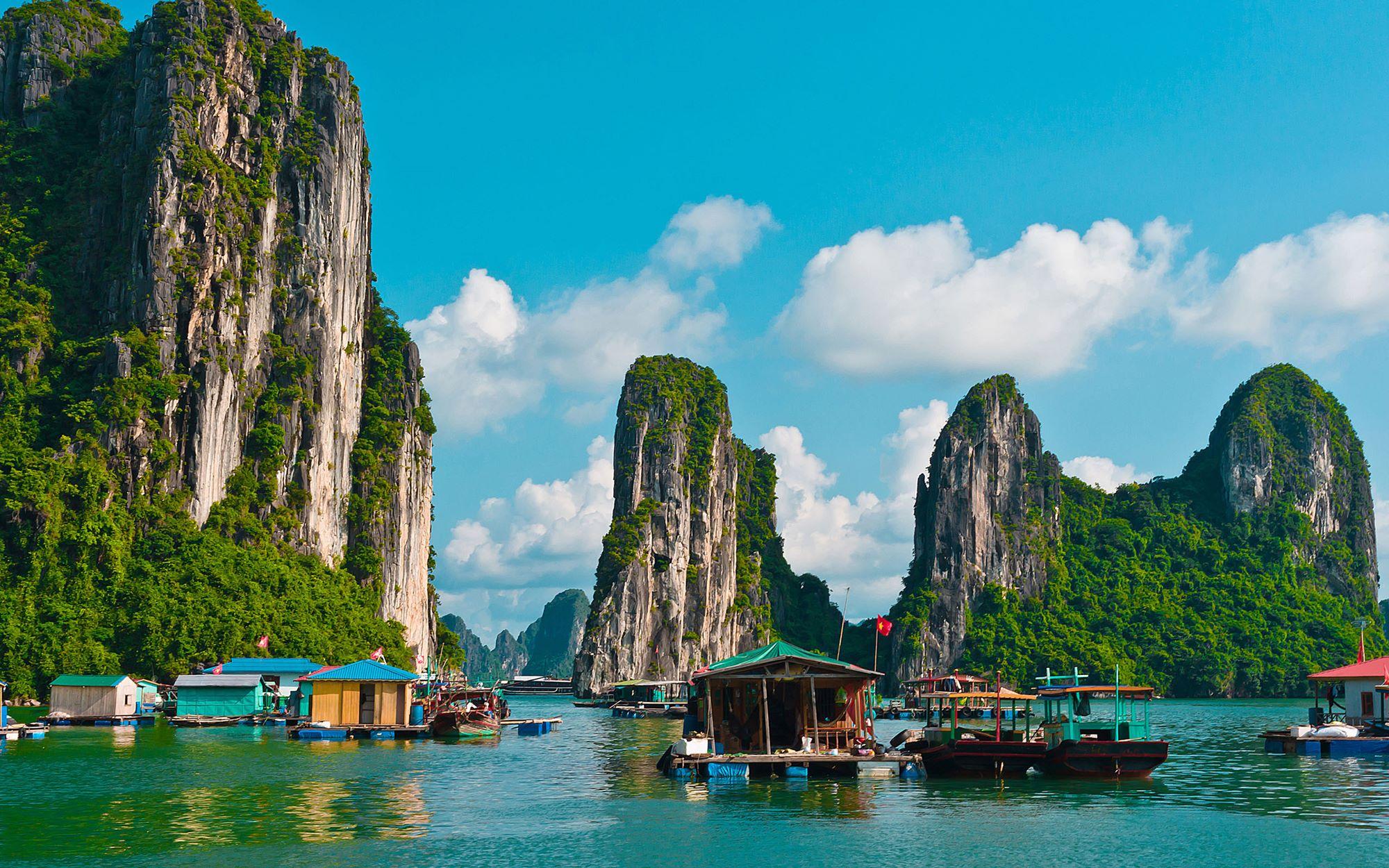 خلیج هالونگ بی ویتنام